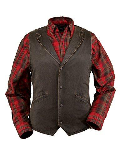 Outback Trading Men's Arkansas Vest - Brown (XL)