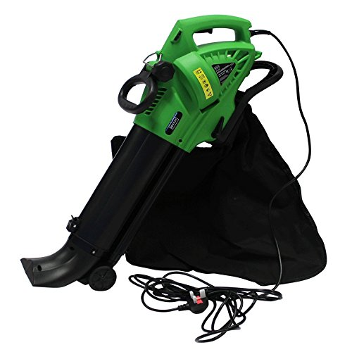 Charles Bentley 3000W 3 in 1 Leaf Blower/Vacuum/Shredder With 45 Litre Collection Bag Electric 220V 6m Cable/Varied Speeds