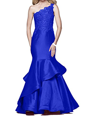 Abendkleider Royal langes Spitze Ballkleider Damen Rot mit Kleider etuikleider Figurbetont Blau Festlich Charmant qHxwZpSTt