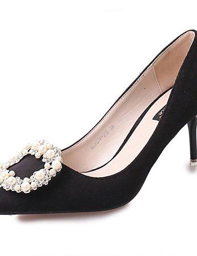 GGX Damen Schuhe Wildleder Kristall Basic Pumpe spitz Toe Heels Heels Heels Büro & Karriere Party & Abend Kleid Stiletto-Absatz 8c878d