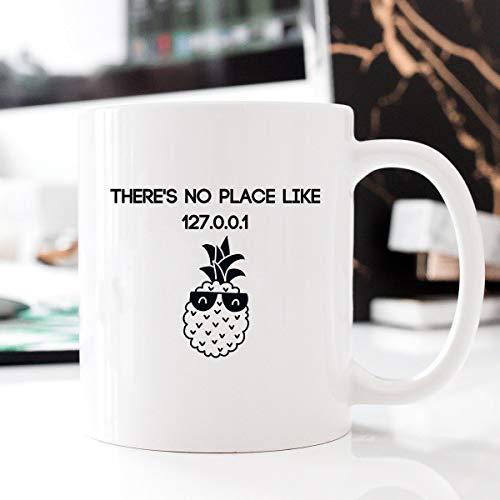 - 127.0.0.1, Computer Geek Mug, Gift for Programmer, Hello World, Computer Mug, Source Code, Valentines Gift, Funny Mug, Gift Ideas Code - 15oz