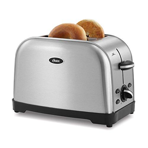 Oster 2-Slice Toaster, Silver (TSSTTRWF2S)