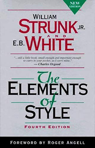 The Elements of Style, Fourth Edition por Strunk Jr., William