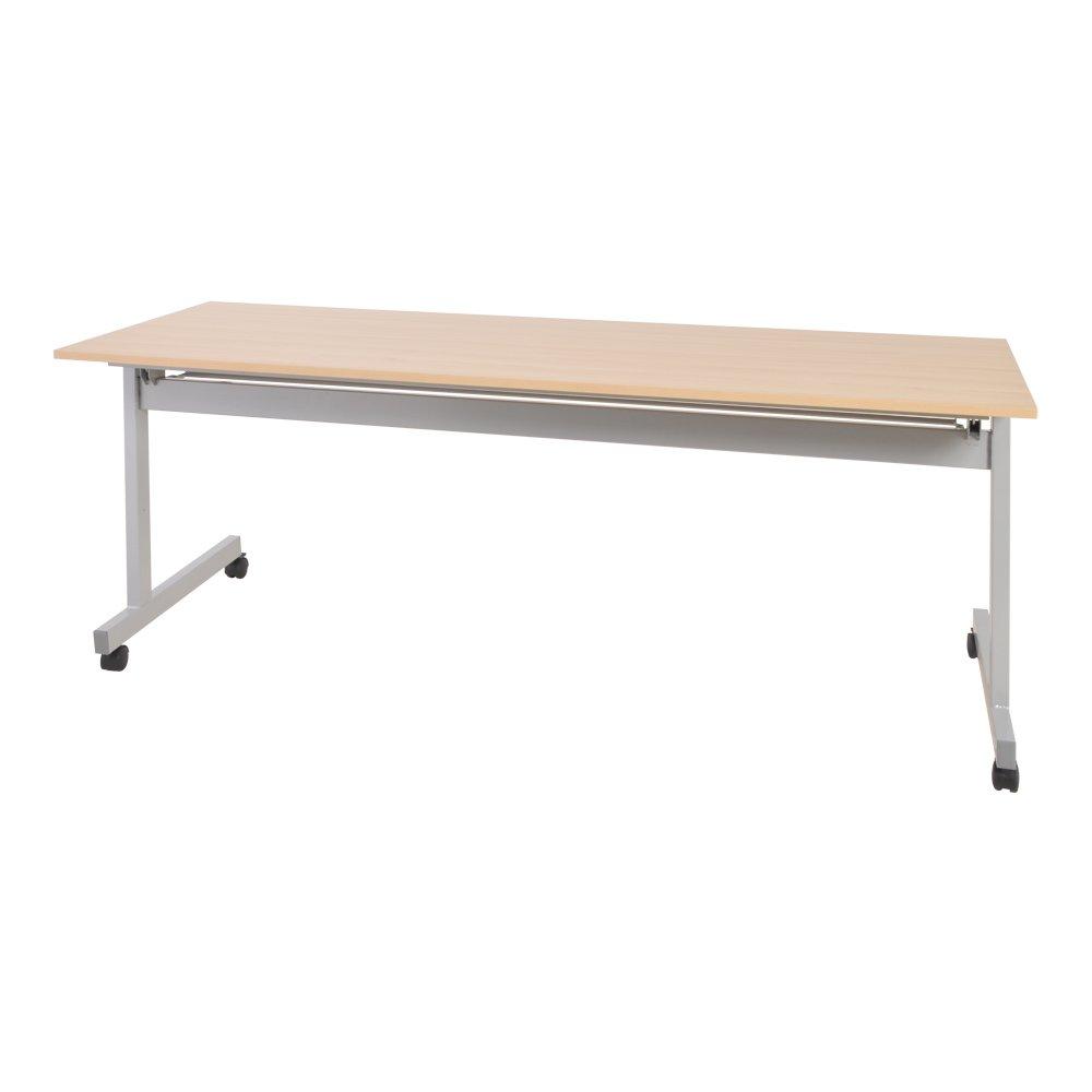 カグクロ スタッキングテーブル 幕板無し 長机 W1800×D600×H700 メープル 会議テーブル TF-1860-MP B014CZEVH6メープル