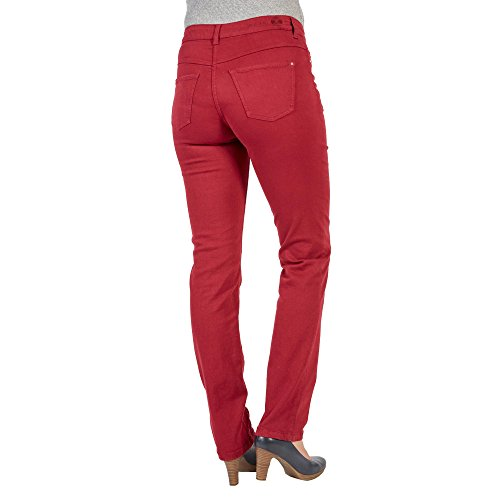 Straight Rosso Mac Dream Donna Rubino Jeans fxzzaEqOw