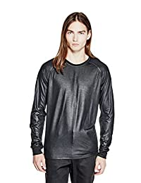 GUESS Men's Mason Shine Raglan Tee