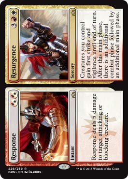 (Magic: the Gathering - Response // Resurgence (229/259) - Guilds of Ravnica -)