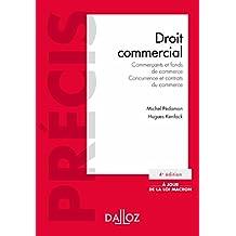 Droit commercial. Commerçants et fonds de commerce. Concurrence et contrats du commerce (Précis) (French Edition)