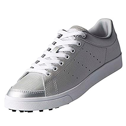 best authentic 46581 5ea7a adidas Golf 2018 Ladies Adicross Classic Leather WoLadies Golf Shoes -  Spikeless SilverWhite