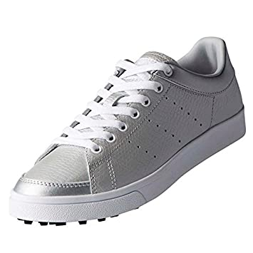 Adidas Golf 2018 Ladies Adicross Classic Leather WoLadies Golf Shoes -  Spikeless Silver White Black 4UK  Amazon.ca  Sports   Outdoors 97648f865f0ba