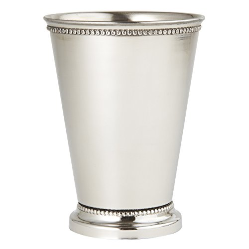 (Elegance 90471 Beaded Mint Julep Cup, 4.5