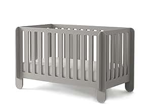 Oeuf Elephant Crib, Grey