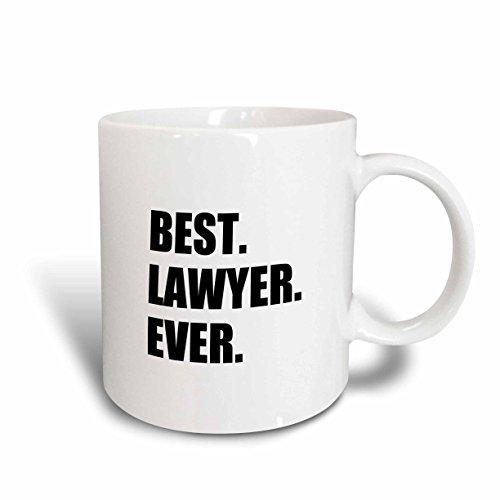 3dRose mug_179778_2 Best Lawyer Ever