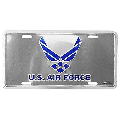 Air Force Plate - U.S. Air Force Hap Arnold Wings License Plate