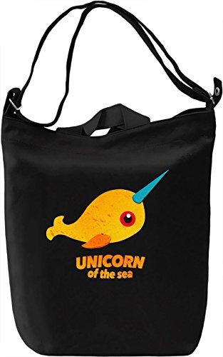Unicorn Borsa Giornaliera Canvas Canvas Day Bag  100% Premium Cotton Canvas  DTG Printing 