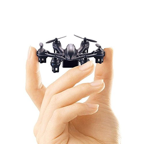 Skytoy Micro Drone 3D Flip 2.4Ghz 6-Axis Gyro Mini Quadcopter for Beginner, Black