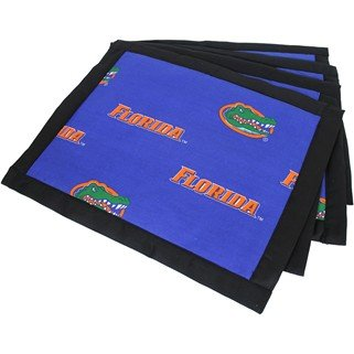 (Set of 12) - Florida Gators Placemats w/ border - Great for the Kitchen, or that Next Picnic or Tailgate Party! - Save Big By Bundling! -