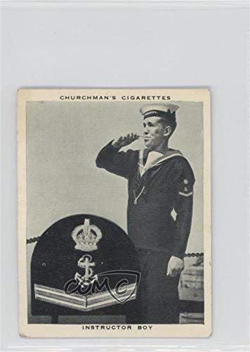 Instructor Boy (Trading Card) 1937 Churchman's Navy At Work - Tobacco [Base] #4