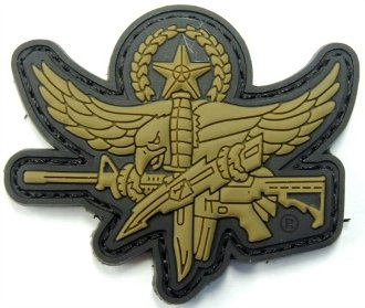 SWAT PVC DE Master Operator Patch (Subdued Master)