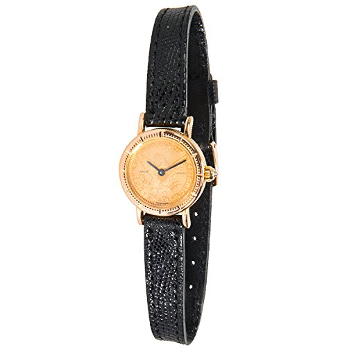 Corum $2.50 Gold Coin Ladies Watch in 18K Yellow Gold (Certified Pre-Owned)