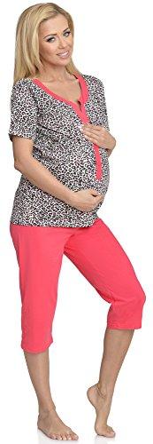 Mammy Allattamento con Premaman Be Corallo G1BR32LL2 Pigiama Funzione gFqwa4d