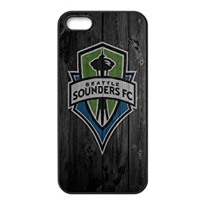 iPhone 4 4s Cell Phone Case Black Wood Seattle Fduhj