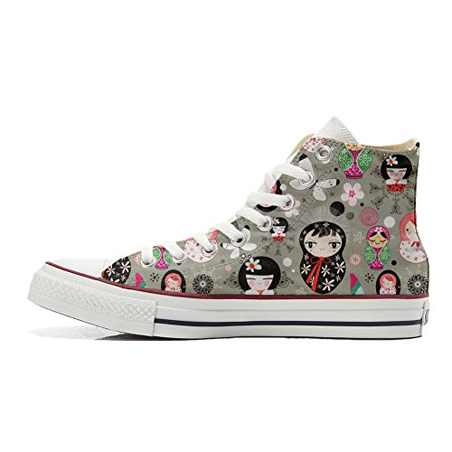 Converse All Star Customized Unisex - zapatos personalizados (Producto Artesano) Matrilu