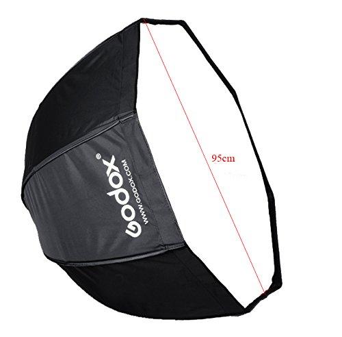 Godox Portable 95cm/37.5'' Umbrella Octagon Softbox Reflector with Carrying Bag for Studio Photo Flash Speedlight by Godox (Image #3)