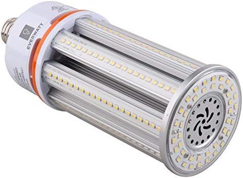Ampoule de ma iuml;s LED 63W équivalent aux halogénures métalliques 250W base E26 standard 8520 LMS 4000K IP64 étanche éclairage intérieurextérieur remplace MH HID CFL HPS
