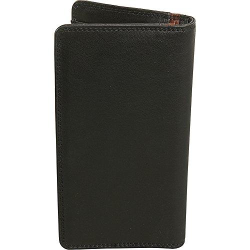 Men's Derek Derek Alexander Pocket Breast Alexander Leather Black Wallet 4Zwqwat