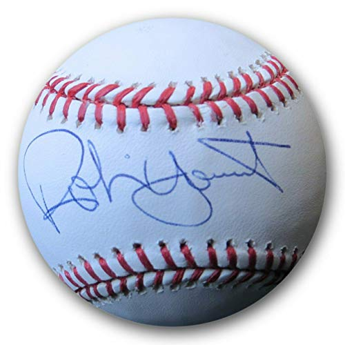 Robin Yount Autographed Signed MLB Baseball Milwaukee Brewers JSA Q38169 - Authentic ()