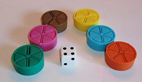 Trivial Pursuit Replacement Game Pieces by Trivial Pursuit Replacement Game Pieces