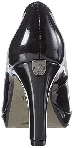 Pumper Svart V4964pr6l Tå Bugatti schwarz Lukket Kvinners qZTwxCxn