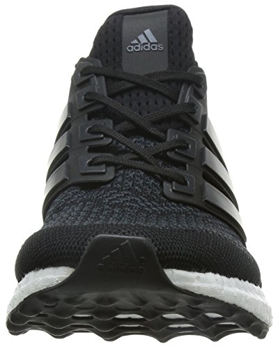 Adidas Uomini Ultra Spinta M Scarpe Da Corsa, Blu Multicolore (nucleo Nero / Nucleo Nero / Giallo Solare)