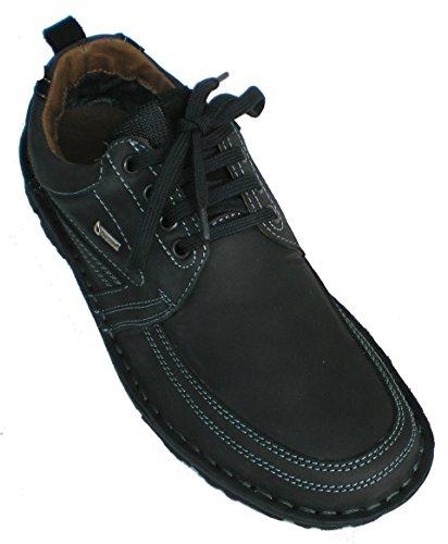 Ara men's Leather loafers US 10.5 M (EU 42) black (Loafers Ara Suede)