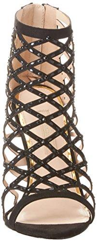Caviglia Primadonna Con Alla Nero Sandalo Cinturino Scarpe Donna SCnqxXACP6