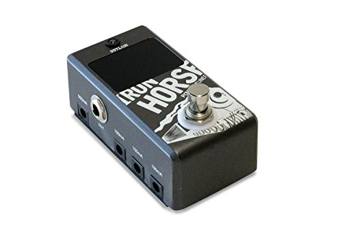 Outlaw Effects IRON-HORSE Tuner & Power Supply Pedal by Outlaw Effects