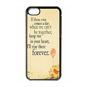 Custom Cartoon Winnie the Pooh phone Case Cove For Iphone 5c XXM9162329