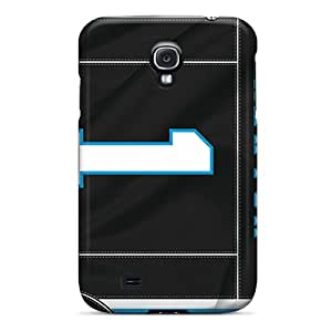 Shock Absorption Hard Phone Cover For Samsung Galaxy S4 (Ghb16393uYua) Support Personal Customs Trendy Carolina Panthers Skin