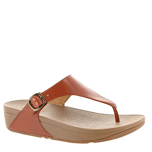 Tan the Skinny Chanclas Oscuro Fitflop Mujer para zXqgaxZ