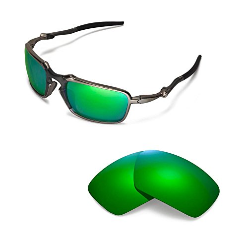 Walleva Replacement Lenses For Oakley Badman Sunglasses - Multiple Options Available
