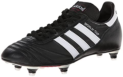 adidas Performance Men's World Cup Soccer Cleat, Black/White, 6.5 M US
