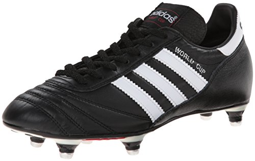 adidas Performance Men's World Cup Soccer Cleat,Black/White,7.5 M US (Soft Ground)