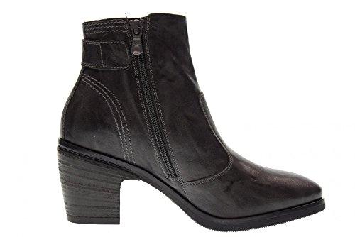 A719272d Giardini Botines Zapatos 109 Mujeres Plomo Talón Nero Con Las De FqwAAf1