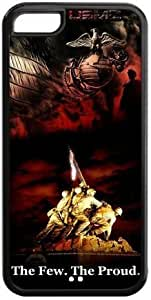 US Marine Corps Iphone 5c Case U.S. Marines Army The Few.The Proud Cases Cover USMC Black at NewOne