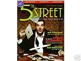 Premiere issue Dec 2004 *5th STREET* Poker Magazine Featuring, The Sopranos STEVE SCHIRRIPA