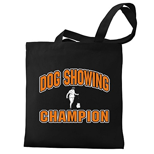 Canvas Showing champion Bag champion Eddany Dog Dog Eddany Tote Showing d0qdwaS