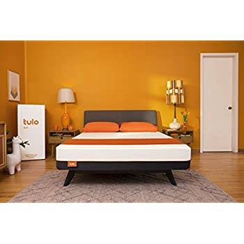 Mattress by tulo, Pick your Comfort Level, Soft Queen Size 10 Bed in a Box, Great for Sleep and Shoulder and Hip Pressure Relief