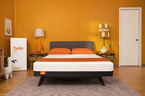 Mattress by tulo, Pick your Comfort Level, Soft Twin XL Size 10' Bed in a Box, Great for Sleep and...