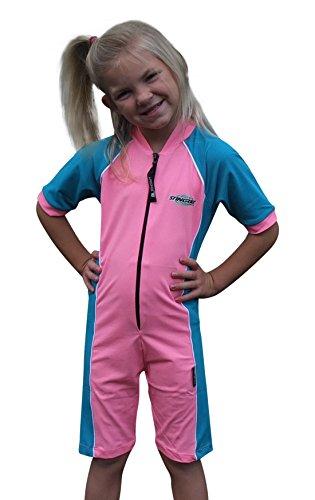 Stingray Australia UV Sun Protection Rash Guard Swim Suit for Boys & Girls-SPF Protective 1-piece Swimwear -Sizes 2, 4, 6, 8. ()